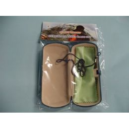 72 of Glasses Case With Cleaning Towel