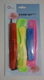 36 Bulk 8pc Hair Comb Set