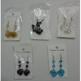 72 Units of EarringS-3 Tier Jewels - Earrings