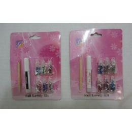 36 Units of Nail Gem Kit [gluE-SticK-Gems] - Nail Polish