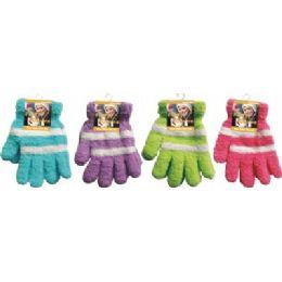 144 Bulk Fuzzy Gloves