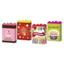 """144 Units of Happy Birthday Assortment #2 4 Asst. Large 10.25"""" X 12.75"""" X 5"""" - Gift Bags Assorted"""