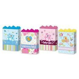 """144 Units of Baby Assortment 4 Asst. Large 10.25"""" X 12.75"""" X 5"""" - Gift Bags Baby"""