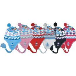 96 Units of Ladies Fleeced Lined Helmet Hat - Winter Helmet Hats