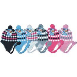 48 Units of Ladies Fleeced Lined Helmet Hat - Winter Helmet Hats