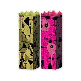 "288 Units of Cat & Dog Wine Bag 2 Asst. 5"" X 14"" X 3.25"" - Gift Bags"