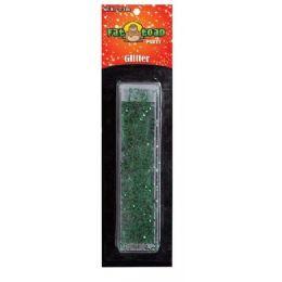 288 Units of Green Glitter Tube - Craft Glue & Glitter