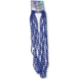 """120 Units of Festive Beads - 33"""" Royal Blue - 6 ct - Party Favors"""