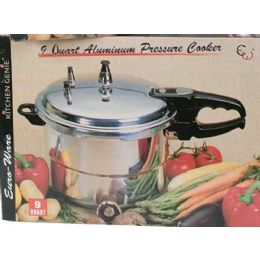 4 Units of 9.5 Qt Pressure Cooker (ul Listed) - Stainless Steel Cookware