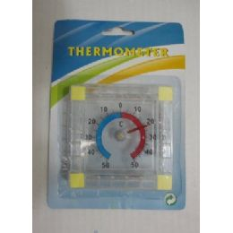 120 Units of 3 Inch Square Thermometer - Thermometer
