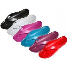 48 Units of Women's Soft Comfortable Eva Flip Flops - Women's Sandals