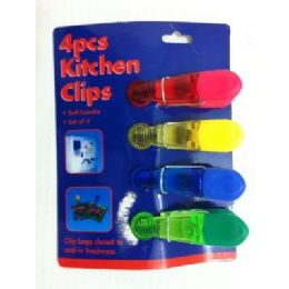 36 Units of 4pc Magnetic Bag Clips - Refrigerator Magnets
