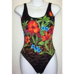 36 Units of Ladies 1 Pc Swimwear - Womens Swimwear