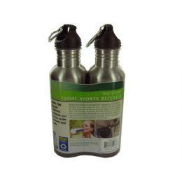 6 Wholesale Stainless Steel Sports Bottle Set