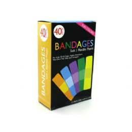 36 Units of Fun Color Bandages - Bandages and Support Wraps