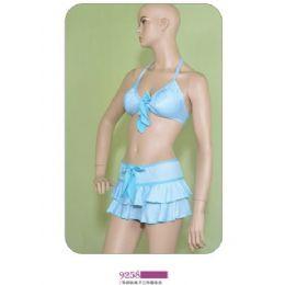 72 Units of Womens 3 Piece Swimsuit Set - Womens Swimwear