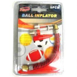 96 Bulk 5 Piece Ball Inflator Pin Set