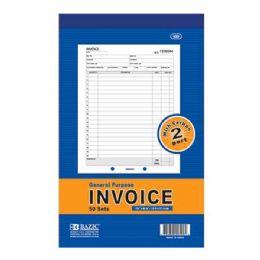 "24 Units of 50 Sets 5 9/16"" X 8 7/16"" 2-Part Invoice W/ Carbon - Sales Order Book"