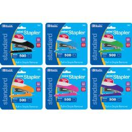 24 Units of Mini Cushion Grip Standard (26/6) Stapler W/ 500 Ct. Staples - Staples and Staplers
