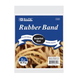36 Bulk 2 Oz./ 56.70 G Assorted Sizes Rubber Bands
