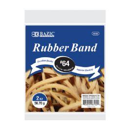 36 Bulk 2 Oz./ 56.70 G #64 Rubber Bands