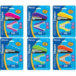 24 Units of Fancy Stapler Set - Staples and Staplers