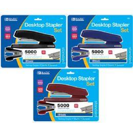 12 Units of Office Desktop Stapler Set - Staples and Staplers