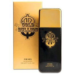 24 Units of Gold Bullion For Men 3.4oz 100ml Sandora Collection - Perfumes and Cologne