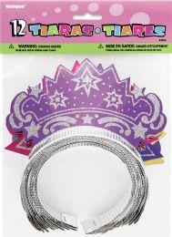 12 Wholesale Favor 12 Glitter Tiaras