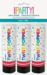 12 Wholesale 3 Twist Poppers