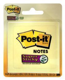 12 Units of PosT-It Super Sticky Notes - Sticky Note & Notepads