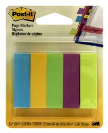 12 Units of PosT-It Page Markers Signets - Sticky Note & Notepads