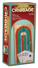 4 Wholesale Pressman Family Classics Solid Wood Cribbage.