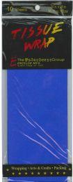 24 Wholesale Tissue Paper Dk Blue 10 Sheets