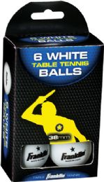 6 Wholesale Ping Png Ball Wh 6pk