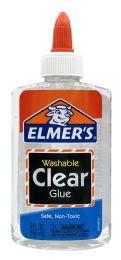 8 Units of Elmer's Washable Clear Glue 5 oz - Glue