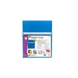 12 Bulk Magnetic Pocket Blue 9.5x11.75