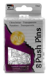 12 Wholesale Cli Push Pins 60