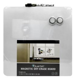 6 Units of Quartet Tin Square Magnetic DrY-Erase Boards - Bulletin Boards & Push Pins