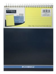 6 Wholesale Cambridge Top Bound StifF-Back Legal Ruled Notebook