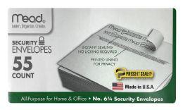 12 Wholesale Mead Security Envelopes 55 Count