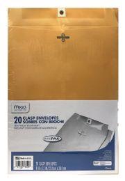 12 Wholesale Mead Clasp Envelopes, Office Pak