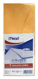 24 Wholesale Mead Heavyweight Brown Kraft Envelopes 9