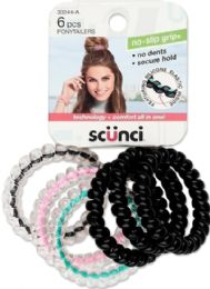6 Units of Scunci Spirals 6 ct - Hair Rollers