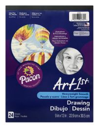 12 Units of Pacon Art 1st Drawing Sheets 24 - Sketch, Tracing, Drawing & Doodle Pads