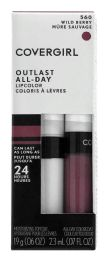 4 Units of Covergirl Outlast AlL-Day Li Pcolor 560 Wild Berry - Lip Stick