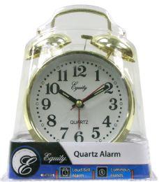 6 Wholesale Keywind Twin Bell Alarm Clock