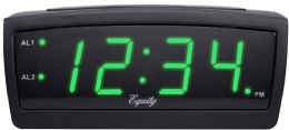 6 Wholesale Greenled Alarm Clock 0.9in