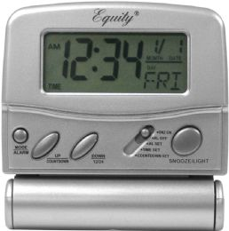 6 Wholesale Lcd Digital Fold Up Trvl Alarm