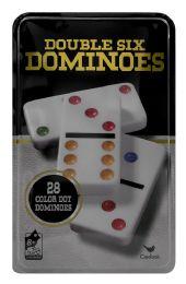 6 Wholesale Cardinal Double Six Dominoes